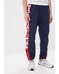 Мужские темно-синие спортивные штаны с принтом от DC Shoes