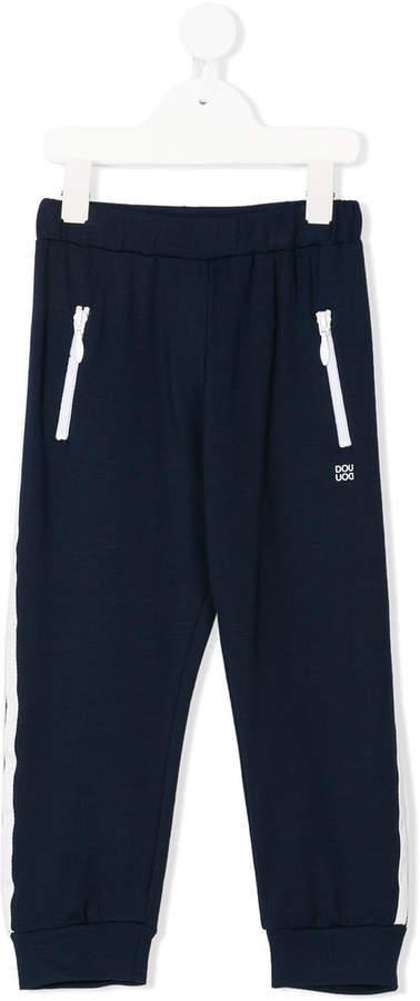 Детские темно-синие спортивные штаны для мальчиков