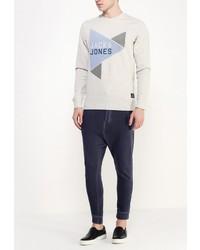 Мужские темно-синие спортивные штаны от Jack & Jones