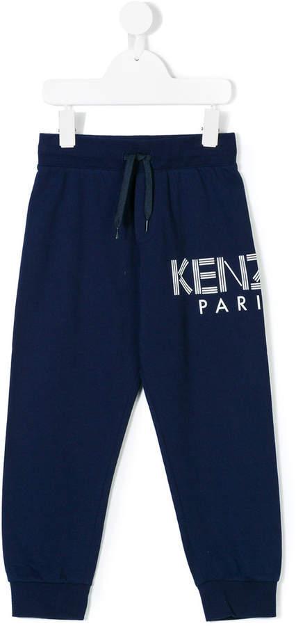 Детские темно-синие спортивные штаны для мальчику от Kenzo