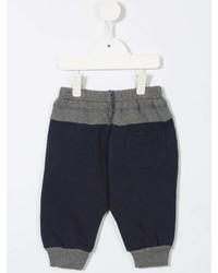 Детские темно-синие спортивные штаны для мальчиков от Diesel