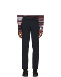 Мужские темно-синие спортивные штаны от Moncler