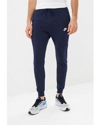 Мужские темно-синие спортивные штаны от Nike