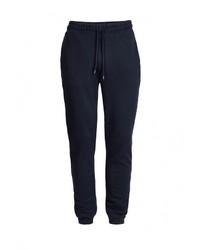 Мужские темно-синие спортивные штаны от Topman