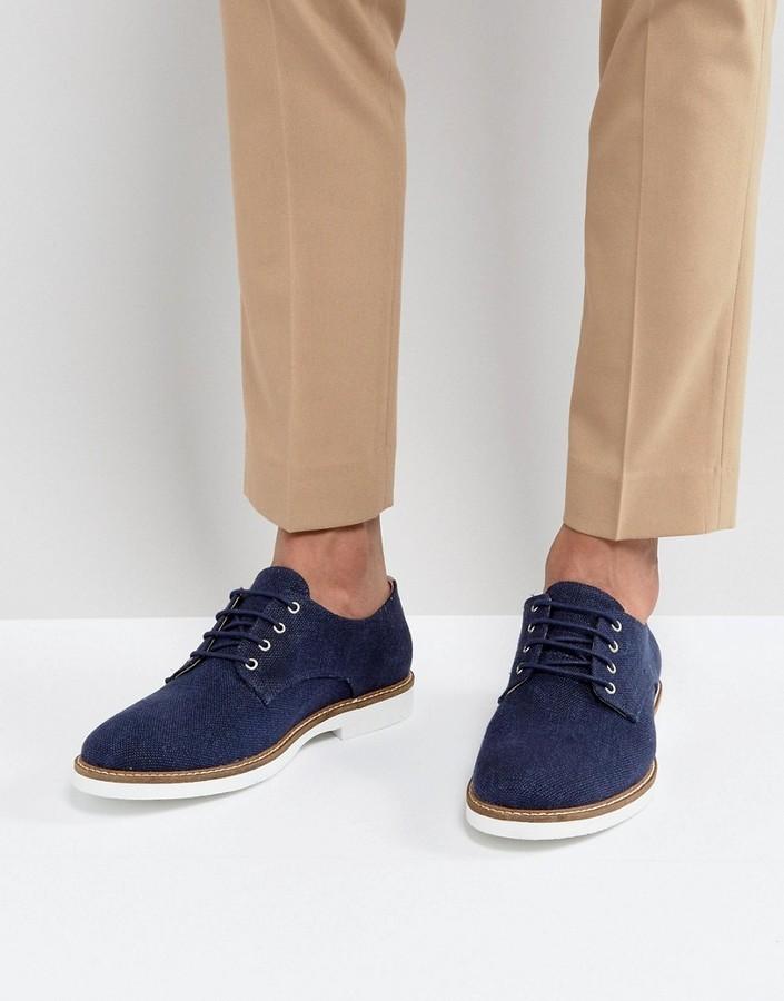 5d08ebfde7f ... Темно-синие туфли дерби от Selected ...