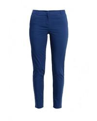 Женские темно-синие узкие брюки от Zarina