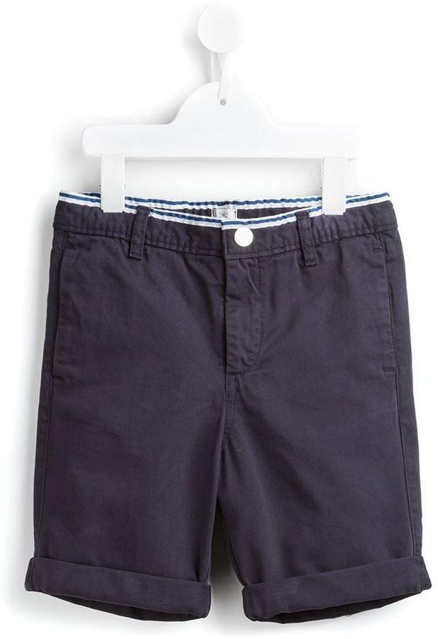 Детские темно-синие хлопковые шорты для мальчику от No Added Sugar