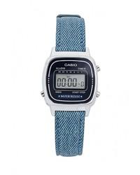 Женские темно-синие часы от Casio