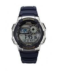 Мужские темно-синие часы от CASIO