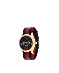 Мужские темно-синие часы от Gucci