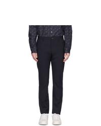 Темно-синие шерстяные брюки чинос от Ps By Paul Smith