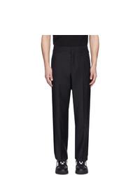 Темно-синие шерстяные брюки чинос от Valentino