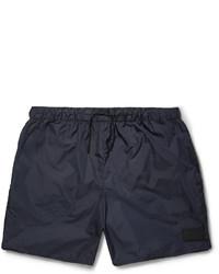 Темно-синие шорты для плавания