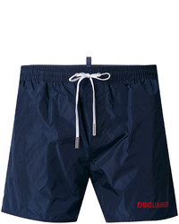 Темно-синие шорты для плавания от DSQUARED2