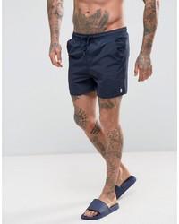 Темно-синие шорты для плавания от French Connection