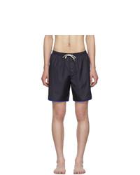 Темно-синие шорты для плавания от Gucci