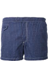 Темно-синие шорты для плавания от MC2 Saint Barth