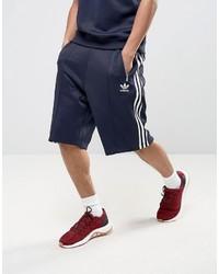 Мужские темно-синие шорты от adidas