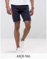 Мужские темно-синие шорты от Asos