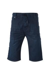 Мужские темно-синие шорты от Diesel