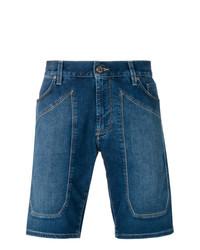 Мужские темно-синие шорты от Jeckerson