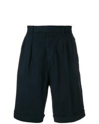 Мужские темно-синие шорты от Officine Generale