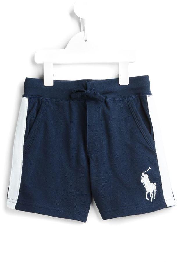 Детские темно-синие шорты для мальчику от Ralph Lauren