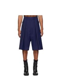 Мужские темно-синие шорты от Random Identities