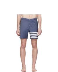 Мужские темно-синие шорты от Thom Browne
