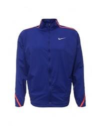 Мужской темно-синий бомбер от Nike