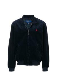 Мужской темно-синий бомбер от Polo Ralph Lauren