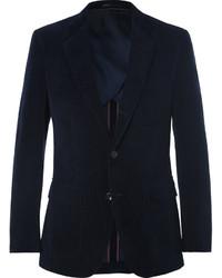 Мужской темно-синий вельветовый пиджак от J.Crew