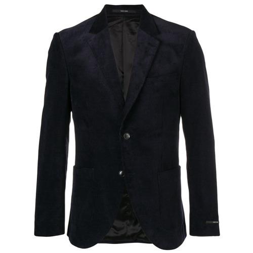 Мужской темно-синий вельветовый пиджак от Tiger of Sweden