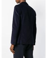 Мужской темно-синий вельветовый пиджак от Ps By Paul Smith