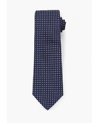 Мужской темно-синий галстук с геометрическим рисунком от Banana Republic