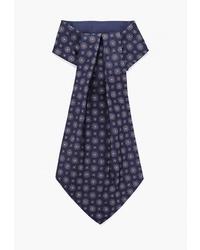 Мужской темно-синий галстук с принтом от CARPENTER