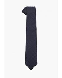 Мужской темно-синий галстук от Emporio Armani