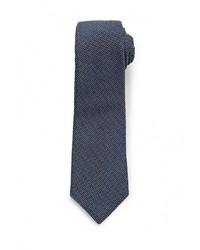 Мужской темно-синий галстук от Mango Man