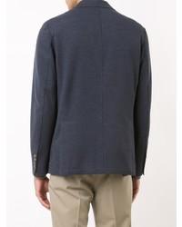 Мужской темно-синий джинсовый пиджак от Eleventy   Где купить и с ... af64a43b684