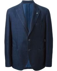 ... Hackett Мужской темно-синий джинсовый пиджак от Hackett Нет в наличии  ... 56dacb71e52