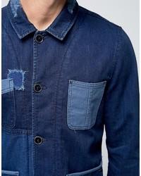 Мужской темно-синий джинсовый пиджак от Pepe Jeans   Где купить и с ... 3452c6a2487