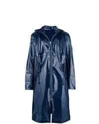 Мужской темно-синий дождевик от Helmut Lang
