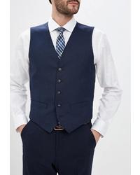Темно-синий жилет от Marks & Spencer
