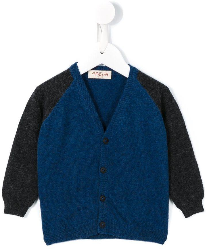Детский темно-синий кардиган для мальчику