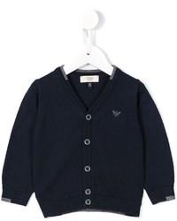 Детский темно-синий кардиган для мальчику от Armani Junior