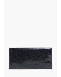 Темно-синий кожаный клатч от D.Angeny