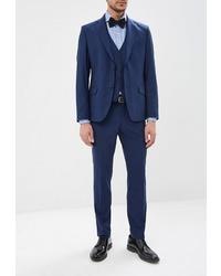 Темно-синий костюм-тройка от Brinardelli