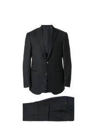 Мужской темно-синий костюм-тройка от Corneliani