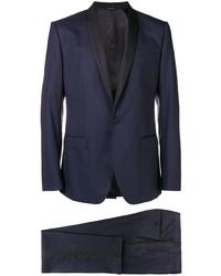 Темно-синий костюм-тройка от Dolce & Gabbana