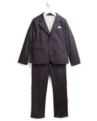 Детский темно-синий костюм для мальчику от Armani Junior